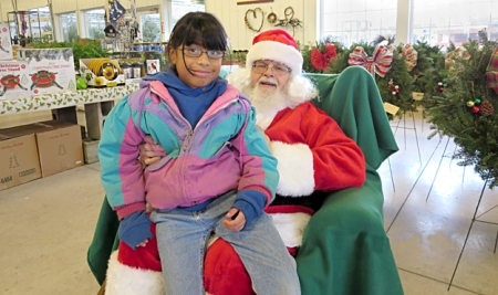 Santa Claus at Goodman's Farm Market in Niagara Falls